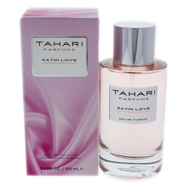 Satin Love by Tahari Parfums EDT Spray for Women 3.4oz