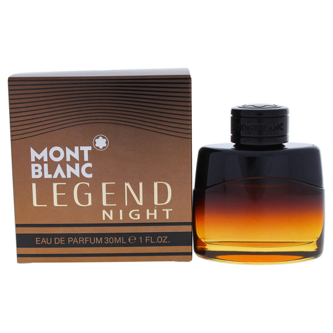 Legend Night by Mont Blanc EDP Spray for Men 1oz