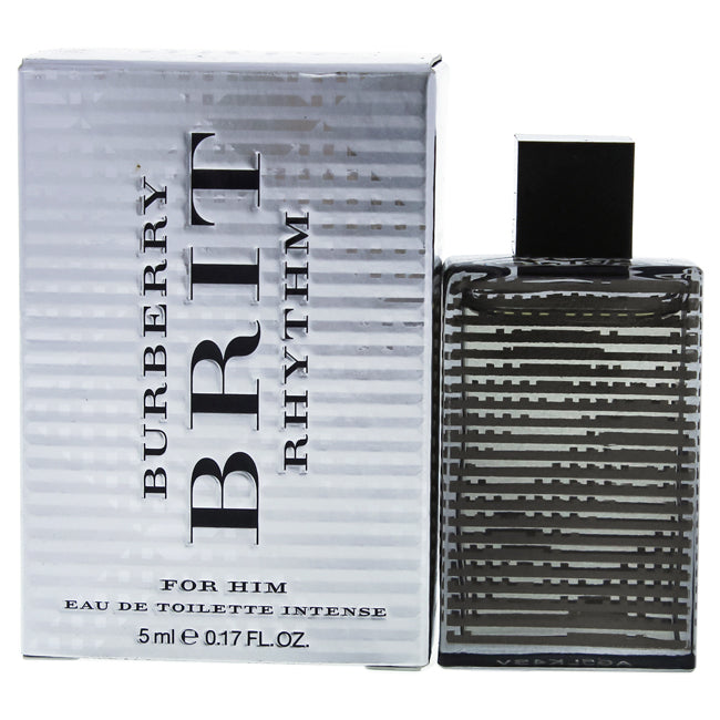 Brit Rhythm by Burberry EDT Intense Spray Mini for Him 0.17oz