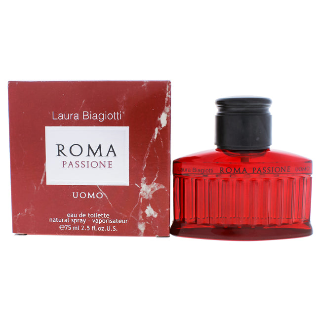 Roma Passione by Laura Biagiotti EDT Spray for Men 2.5oz