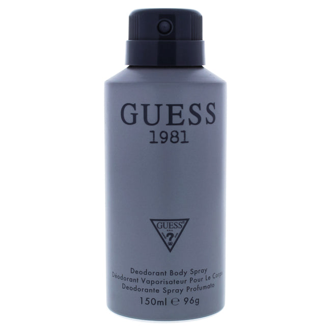 Guess 1981 by Guess Deodorant Body Spray for Men 5oz