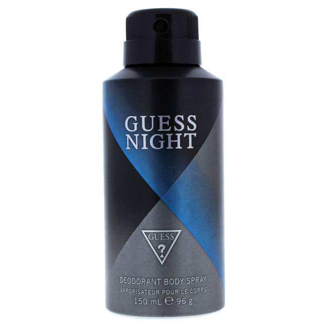 Night by Guess Deodorant Body Spray for Men 5oz