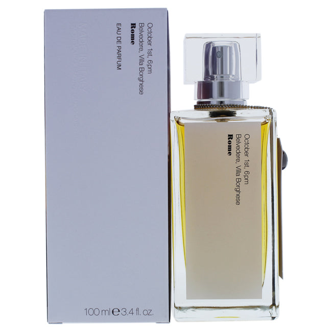 October 1st 6PM Belvedere Villa Borghese Roma by Memento Italian Olfactive Landscapes for Women 3.4oz
