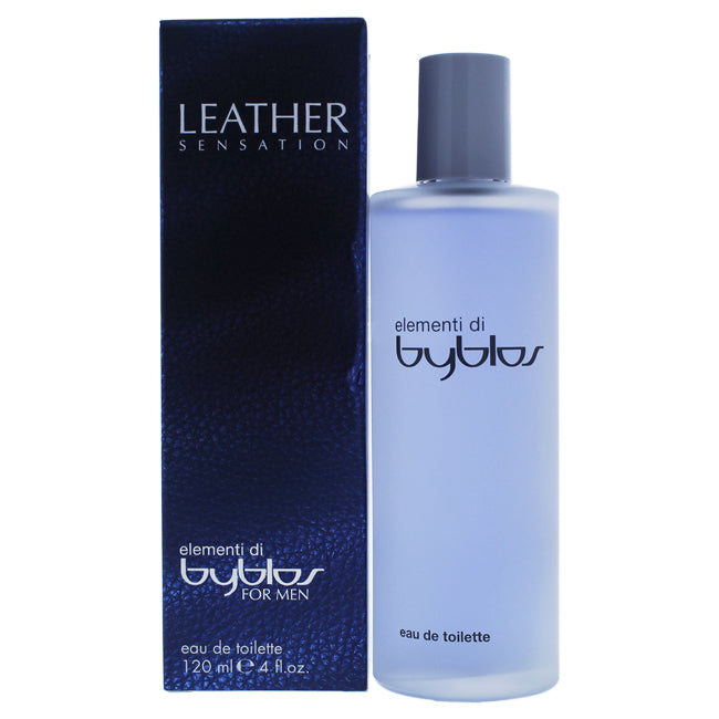 Elementi Di Leather Sensation by Byblos EDT Spray for Men 4oz