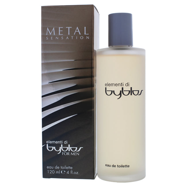 Elementi Di Metal Sensation by Byblos EDT Spray for Men 4oz