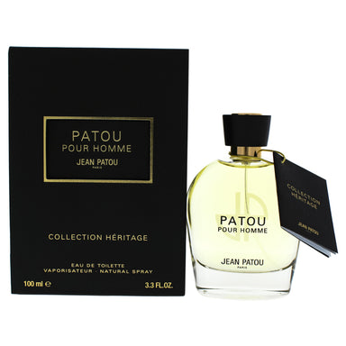Patou Collection Heritage by Jean Patou EDT Spray for Men 3.3oz