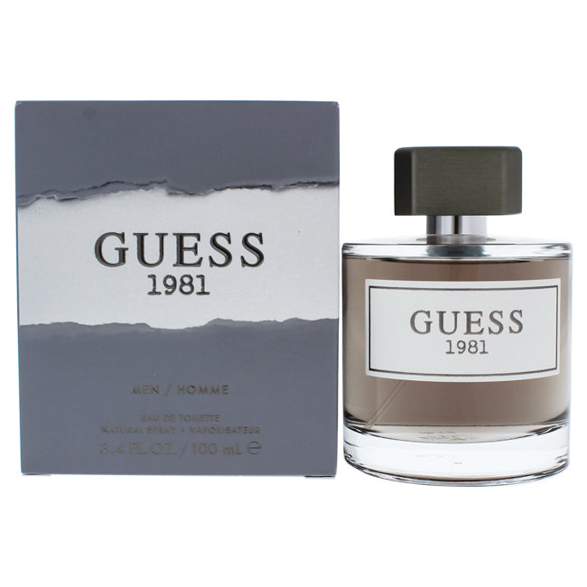 Guess 1981 by Guess for Men - 3.4 oz EDT Spray
