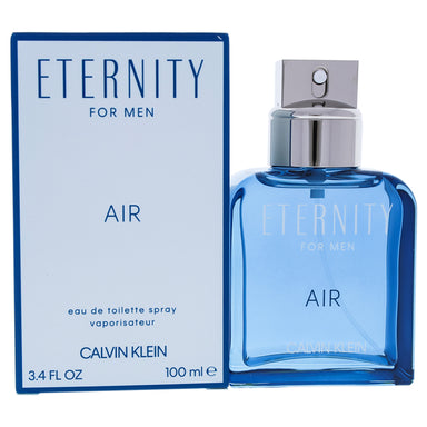 Eternity Air by Calvin Klein EDT Spray for Men 3.4oz