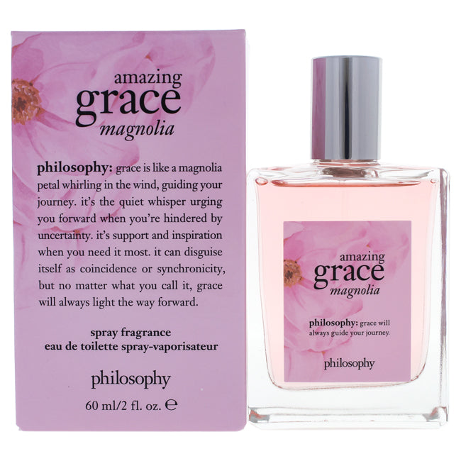 Amazing Grace Magnolia by Philosophy EDT Spray for Women 2oz