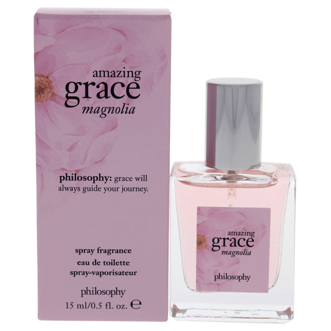 Amazing Grace Magnolia by Philosophy for Women - 0.5 oz EDT Spray