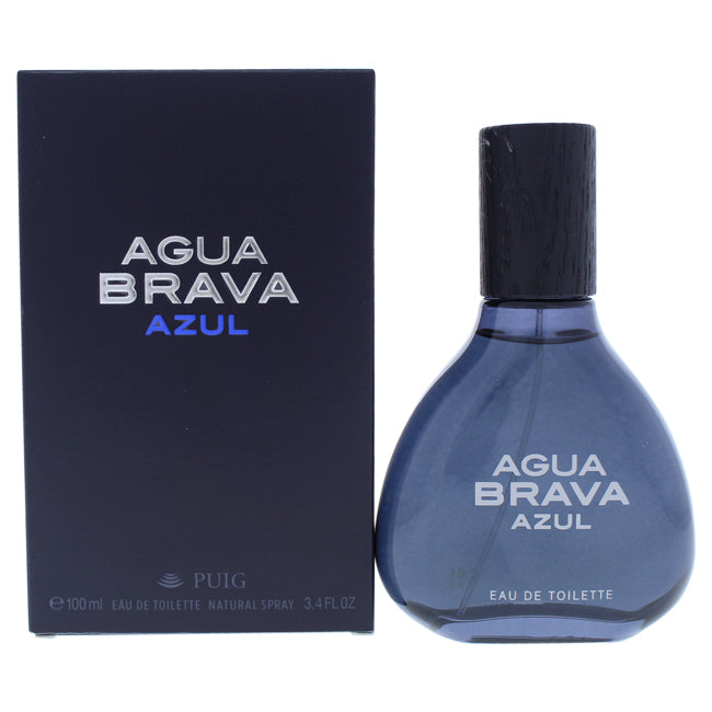 Agua Brava Azul by Antonio Puig for Men - 3.4 oz EDT Spray