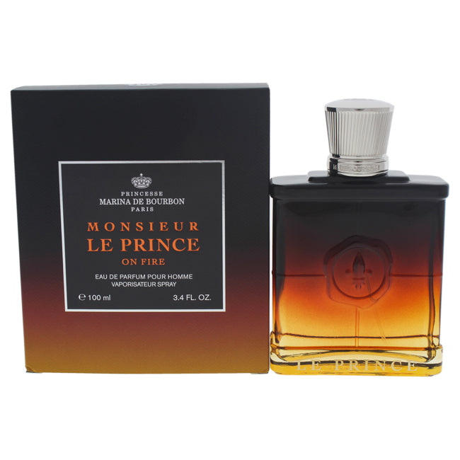 Monsieur Le Prince On Fire by Princesse Marina de Bourbon for Men - 3.4 EDP Spray