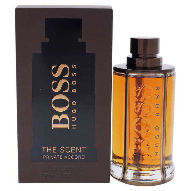 Boss The Scent Private Accord by Hugo Boss for Men - 6.7 oz EDT Spray