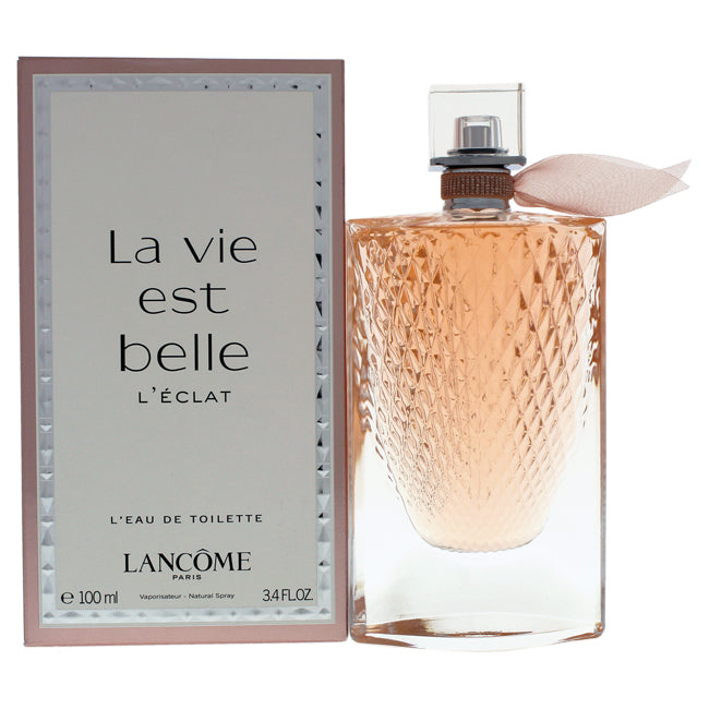 La Vie Est Belle LEclat by Lancome for Women - 3.4 oz EDT Spray