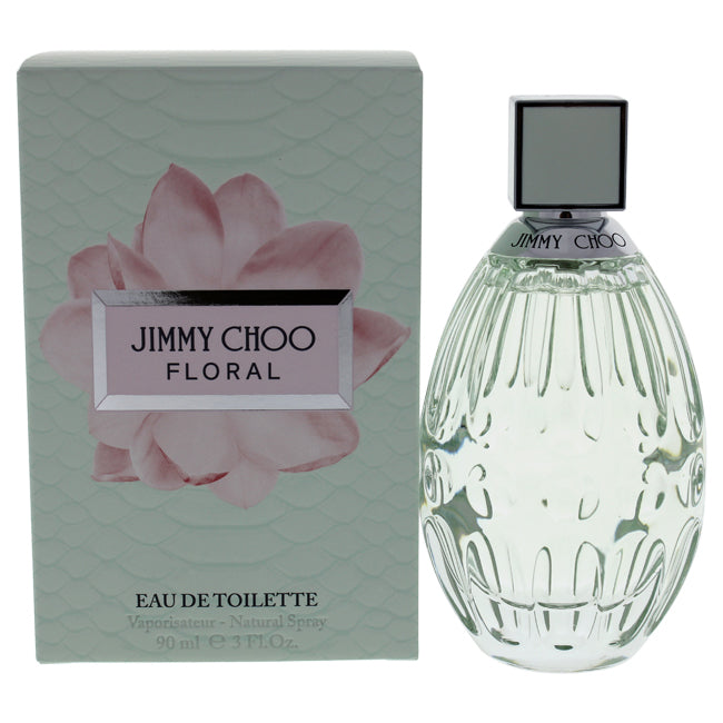 Floral by Jimmy Choo for Women - 3 oz EDT Spray