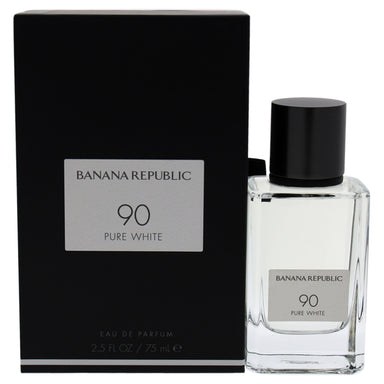 90 Pure White by Banana Republic for Unisex 2.5 oz EDP Spray