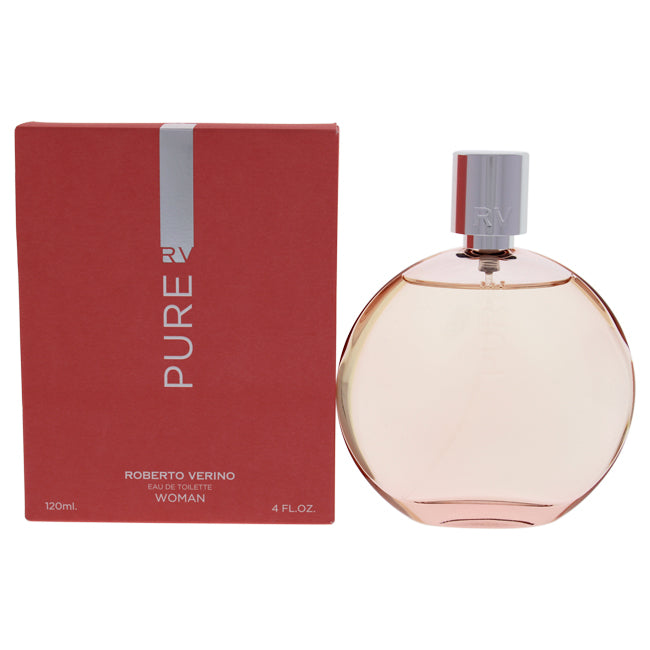 Pure by Roberto Verino for Women 4 oz EDT Spray