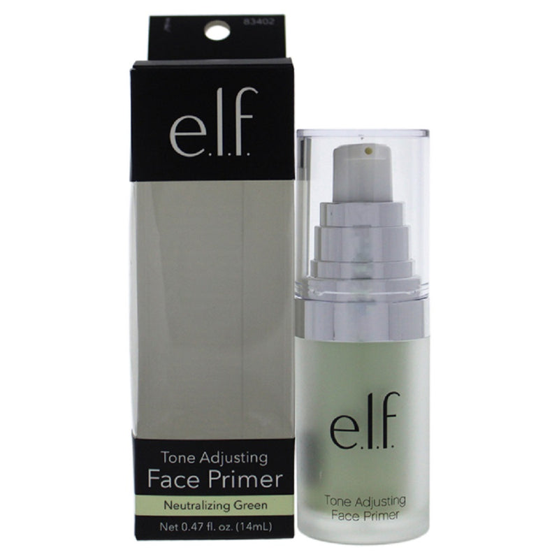 e.l.f. Tone Adjusting Face Primer -Neutralizing Green