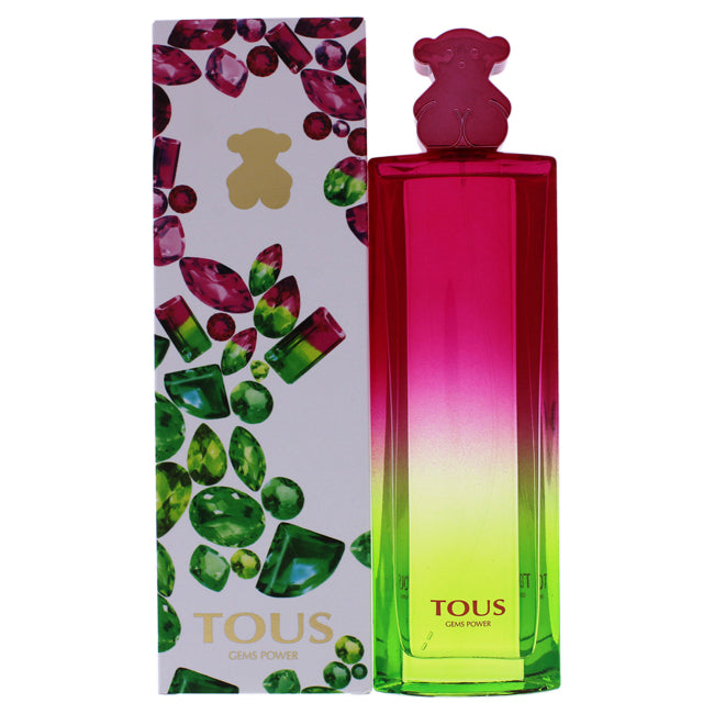 Tous Gems Power by Tous for Women - 3 oz EDT Spray