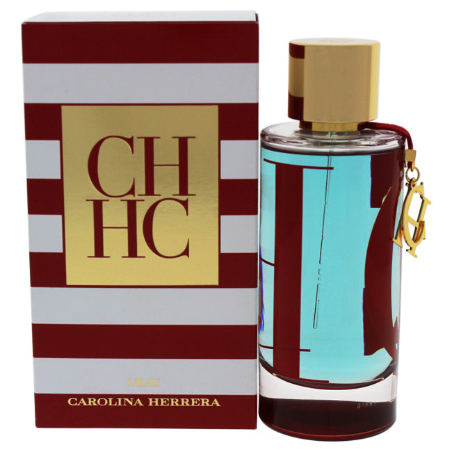 CH Leau by Carolina Herrera for Women - 3.4 oz EDT Spray