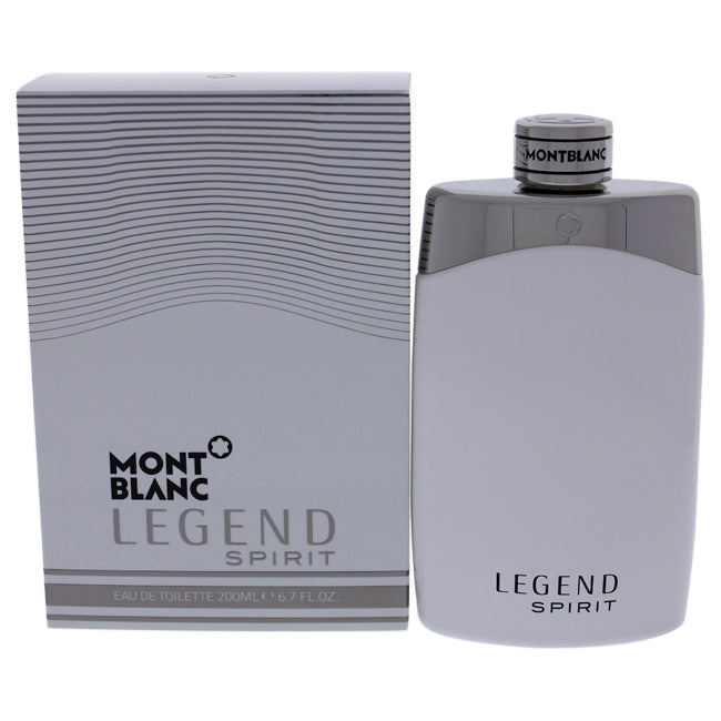 Mont Blanc Legend Spirit by Mont Blanc for Men - 6.7 oz EDT Spray
