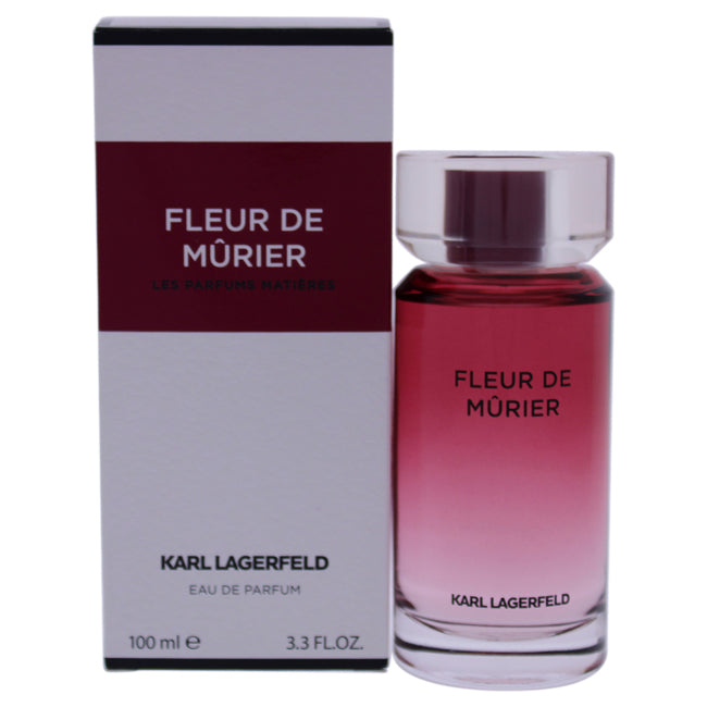 Fleur de Murier by Karl Lagerfeld for Women - 3.3 oz EDP Spray