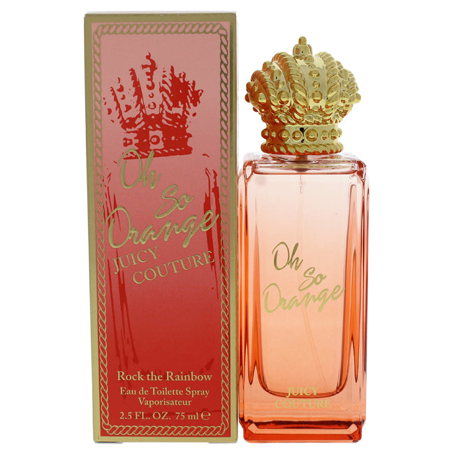 Rock the Rainbow Oh So Orange by Juicy Couture for Women - 2.5 oz EDT Spray