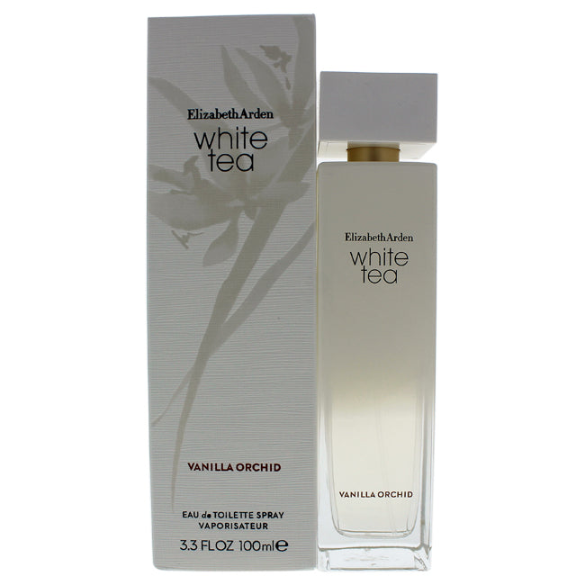 White Tea Vanilla Orchid by Elizabeth Arden for Women - 3.3 oz EDT Spray