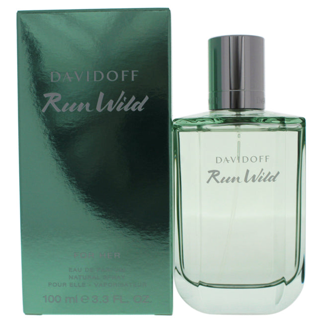 Run Wild by Davidoff for Women - 3.3 oz EDP Spray