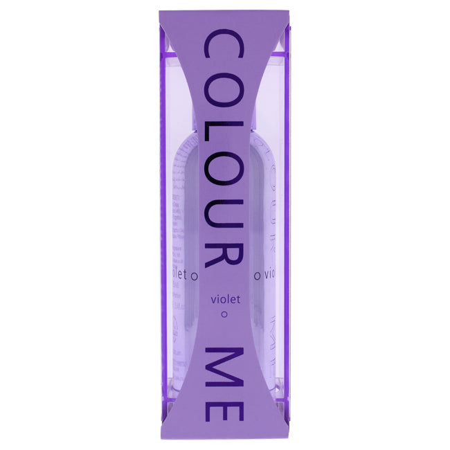 Colour Me Violet by Milton-Lloyd for Women - 3.4 oz EDP Spray