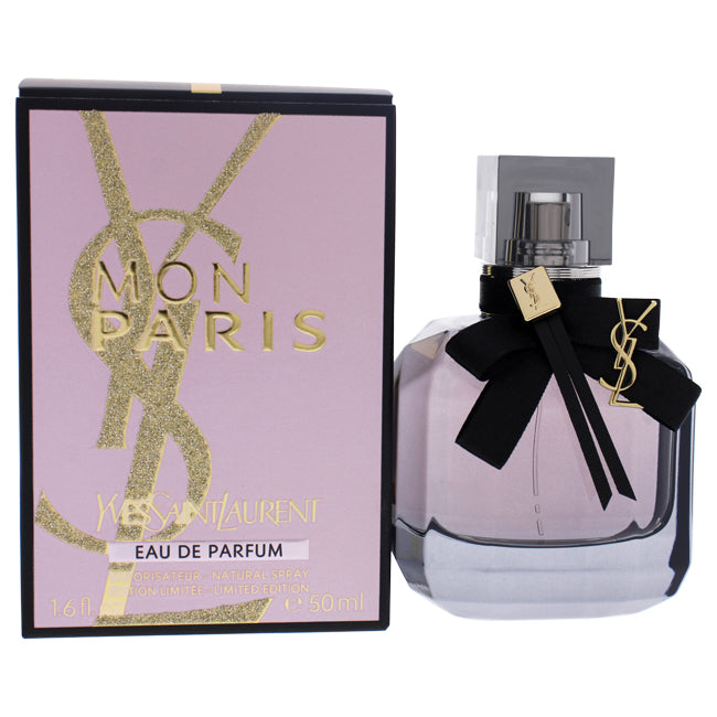 Mon Paris Limited Edition by Yves Saint Laurent for Women - 1.6 oz EDP Spray