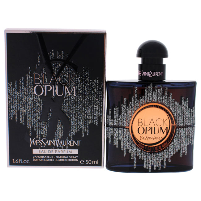Black Opium Limited Edition by Yves Saint Laurent for Women - 1.6 oz EDP Spray