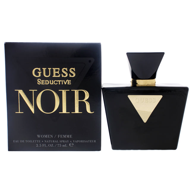 Guess Seductive Noir by Guess for Women - 2.5 oz EDT Spray