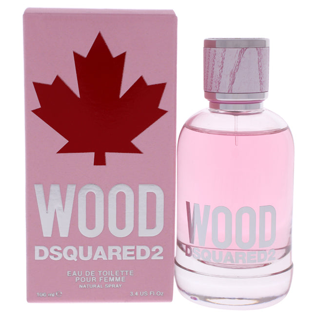 Wood Pour Femme by Dsquared2 for Women - 3.4 oz EDT Spray