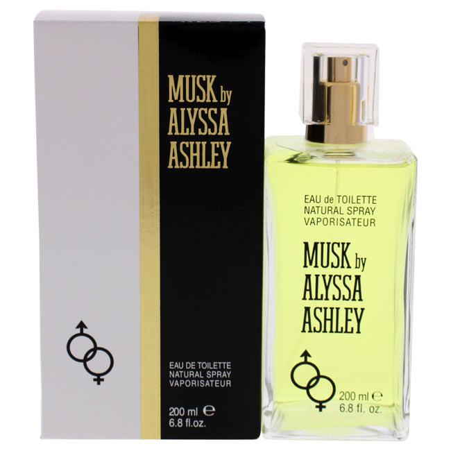Musk by Alyssa Ashley for Women - 6.8 oz EDT Spray