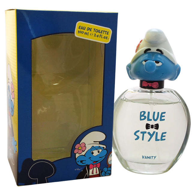 The Smurfs Blue Style Vanity by First American Brands EDT Spray for Kids 3.4oz