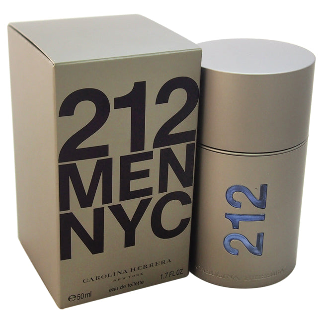 212 by Carolina Herrera EDT Spray for Men 1.7oz