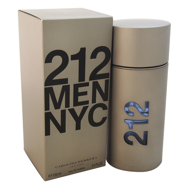 212 by Carolina Herrera EDT Spray for Men 3.4oz