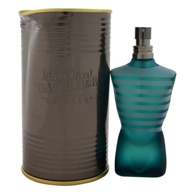 Le Male by Jean Paul Gaultier EDT Spray for Men 2.5oz