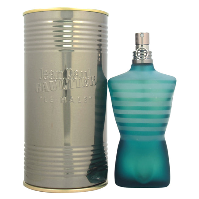 Le Male by Jean Paul Gaultier EDT Spray for Men 4.2oz