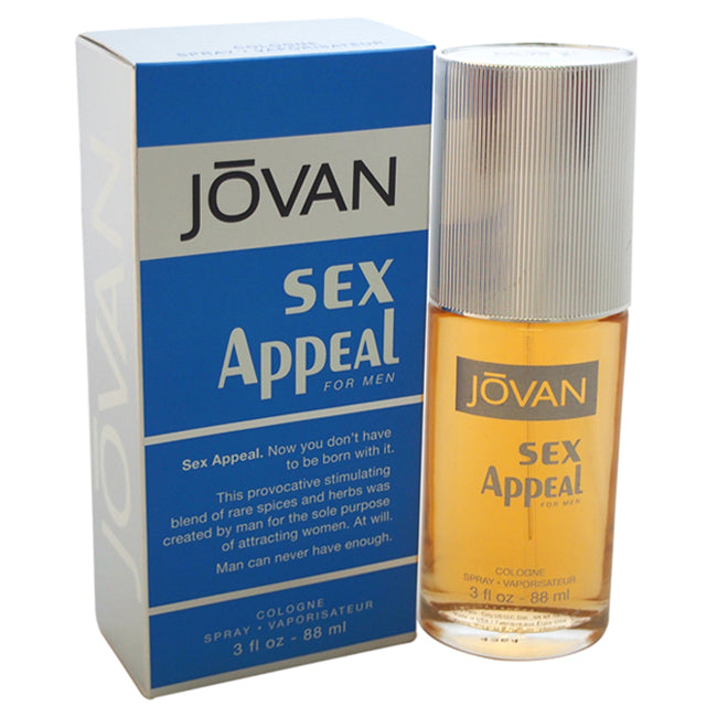 Jovan Sex Appeal by Jovan for Men
