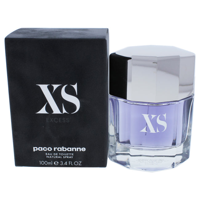 Paco XS by Paco Rabanne EDT Spray for Men 3.4oz