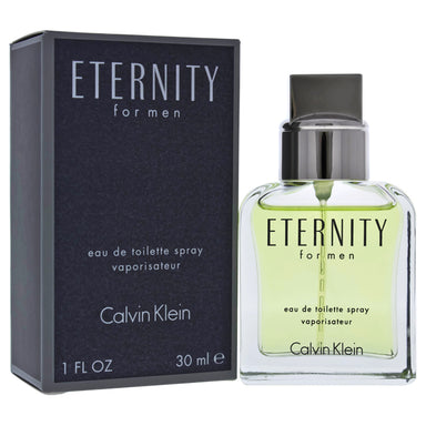 Eternity by Calvin Klein EDT Spray for Men 1oz