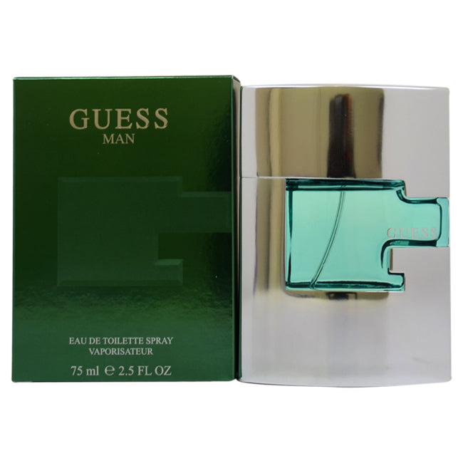 Man by Guess EDT Spray for Men 2.5oz