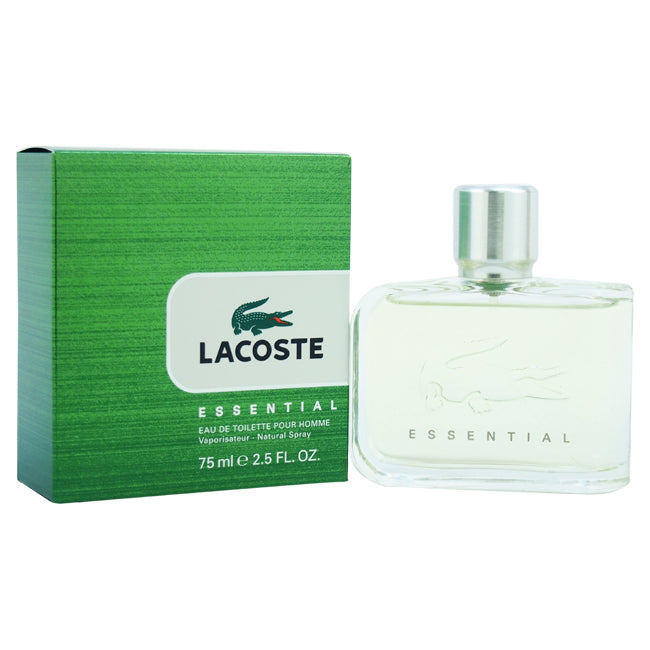 Essential by Lacoste EDT Spray for Men 2.5oz
