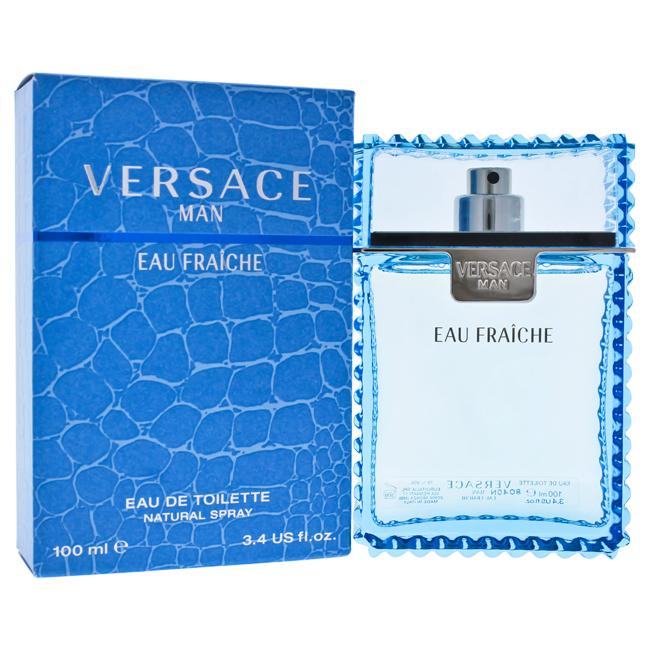 Versace Man Eau Fraiche by Versace EDT Spray for Men 3.4oz