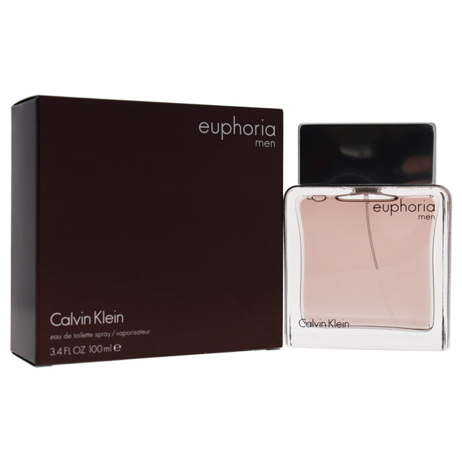Euphoria by Calvin Klein EDT Spray for Men 3.4oz