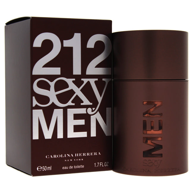 212 Sexy Men by Carolina Herrera EDT Spray for Men 1.7oz