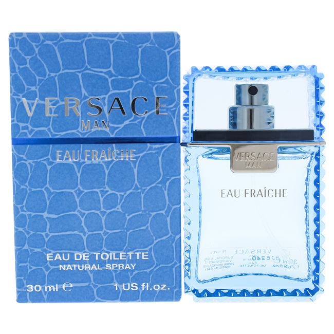 Versace Man Eau Fraiche by Versace EDT Spray for Men 1oz
