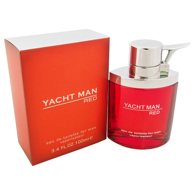 Yacht Man Red by Myrurgia for Men